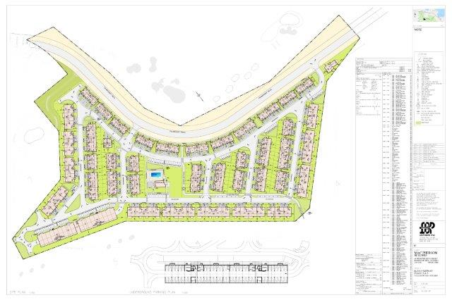 Site plan of Blue Fairways Block 5 and 6