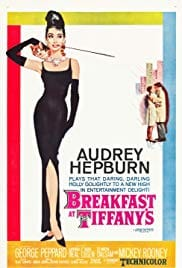 Poster of Audrey Hepburn in Breakfast at Tiffany's