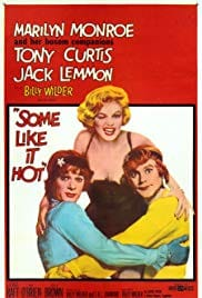 Poster of Marilyn Monroe in Some Like it Hot