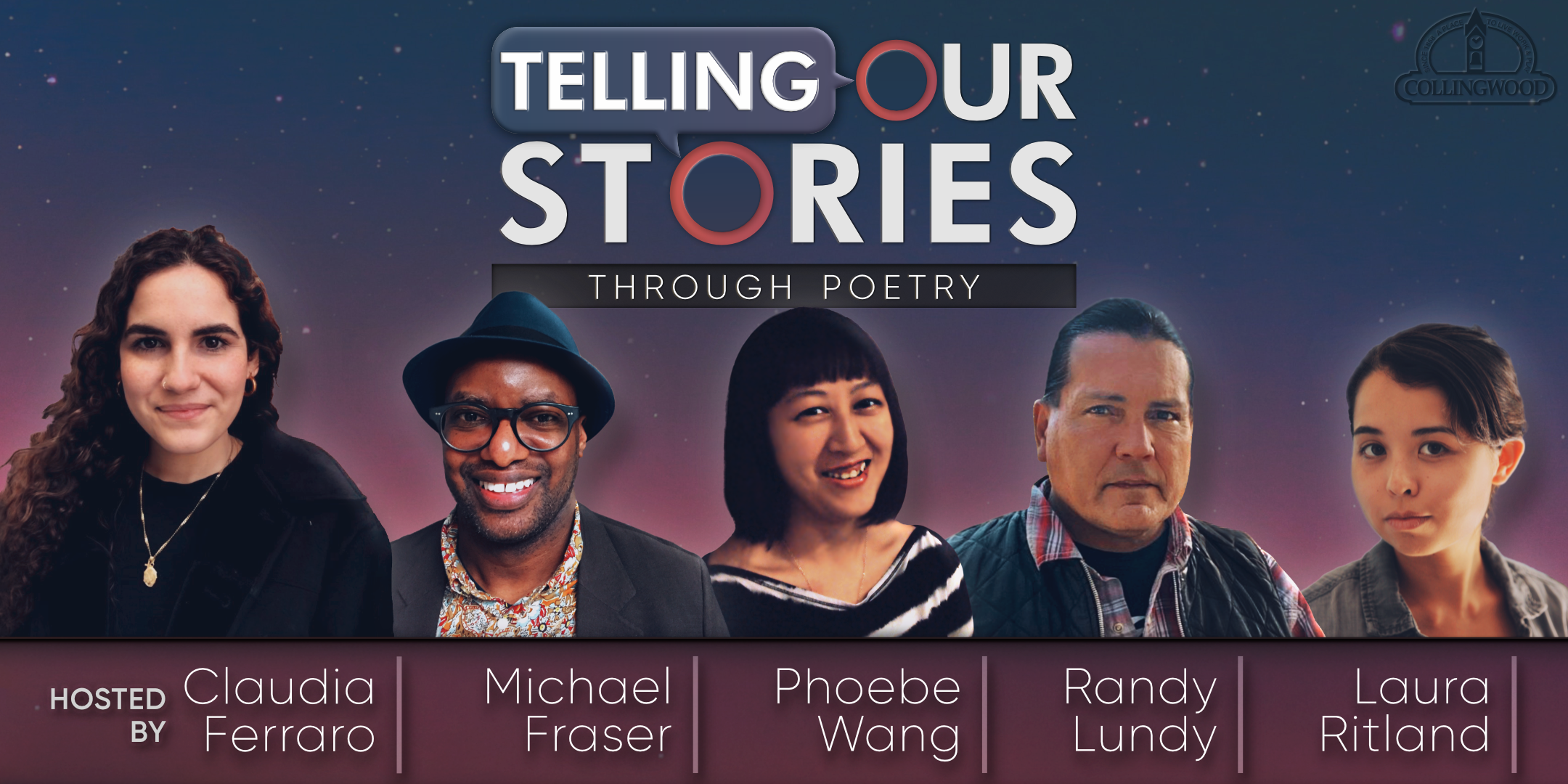 Telling Our Stories Through Poetry authors