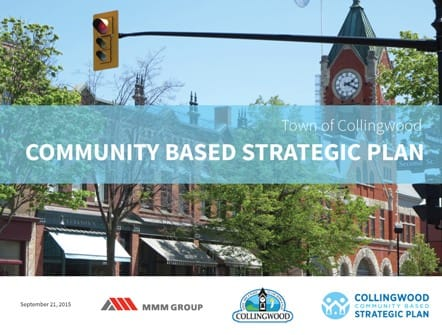 Community Based Strategic Plan Cover