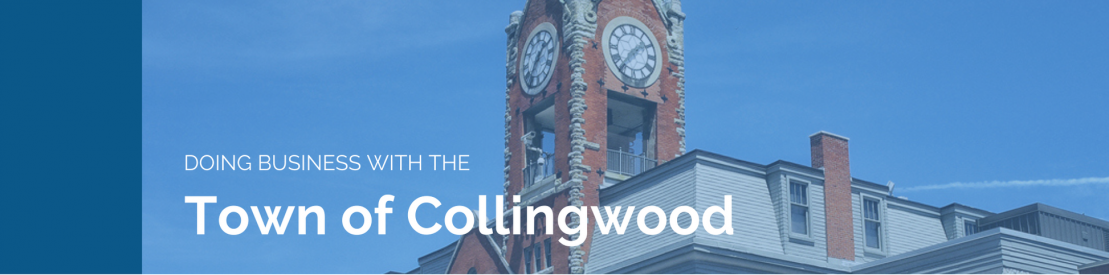 Doing Business with the Town of Collingwood