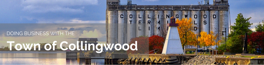Doing Business with the Town of Collingwood\
