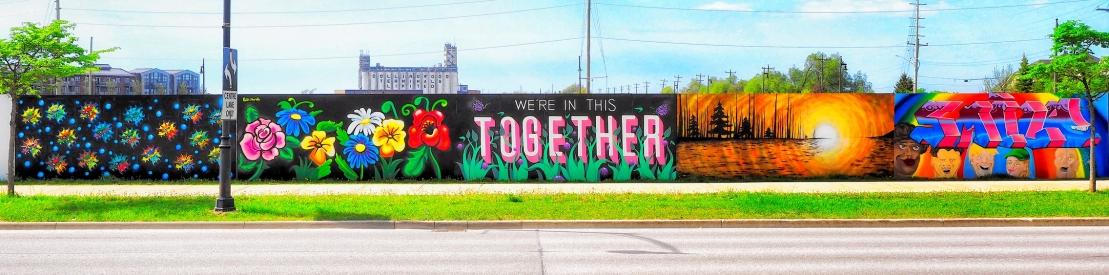 Huron Street Mural