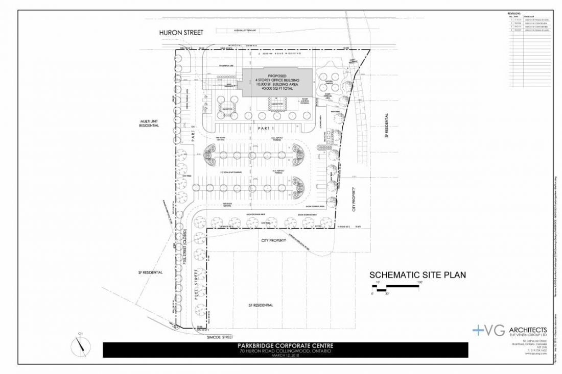 Here is a site plan of AG Designs Company