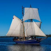 Brigs sailboat