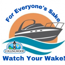 For everyone's sake - watch your wake