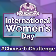 International Women's Day #ChooseToChallenge logo