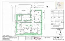 an image of the site plan for Collingwood Hotel 500 Hume St Collingwood Ontario