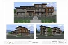 Architectural Concept of Jasper Design Headquarters Collingwood Ontario
