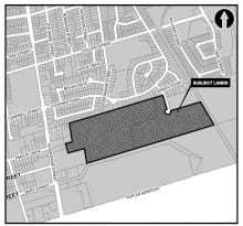 This is location map of Eden Oak McNabb Red-line Revision