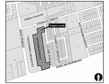 Location of Mountain Croft Subdivision Removal of the holding provision in Phase 4