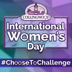 International Women's Day #ChooseToChallenge logo