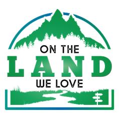 On The Land We Love logo