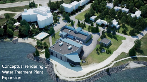 Rendering of Water Treatment Plant Expansion